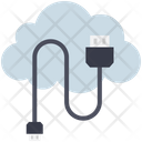Cloud Computing Cable Icon
