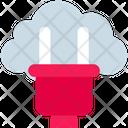 Cloud Computing Plug Icon