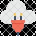 Cloud Hosting Computing Icon