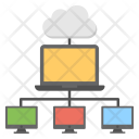 Shared Services Internet Icon