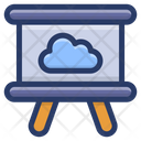 Cloud Presentation Icon