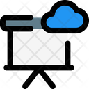 Cloud Presentation Target People Icon