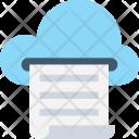 Cloud Print Icon