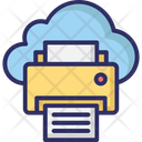 Cloud Printing Online Printing Printing Service Icon