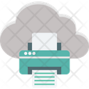 Cloud printing Icon