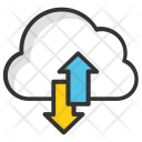 Cloud Processing Data Icon