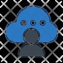 Cloud Account Storage Icon