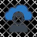 Cloud Profile User Icon