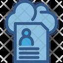 Profile Cloud Profile Cloud Computing Icon