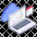 Cloud Programming Cloud Development Cloud Coding Icon