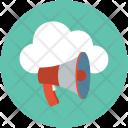 Cloud promotion Icon