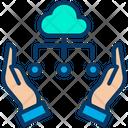 Care Cloud Computing Icon