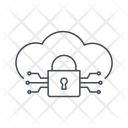 Cloud Protection Criminal Icon