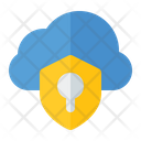 Cloud Protection Data Protection Secure Cloud Icon