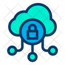 Secure Cloud Safe Cloud Protected Cloud Icon