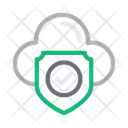 Security Protection Cloud Icon