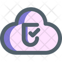 Cloud Protection Storage Icon