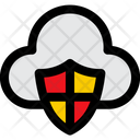 Cloud Protection Cloud Security Shield Icon