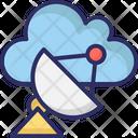Cloud Radar Icon