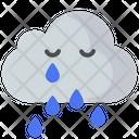 Cloud Moon Cloud Cloudy Icon