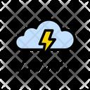 Storm Rain Cloud Icon
