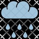 Summer Cloud Rain Icon