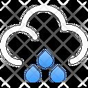 Cloud Rain Icon