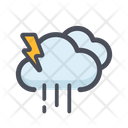 Cloud Rain Cloud Raining Rainy Weather Icon