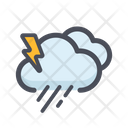 Cloud Rain Weather Rainy Icon