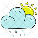 Cloud Raining Icon