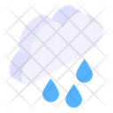 Raining Cloud Raining Rainy Weather Icon