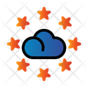 Cloud Seo Rating Icon