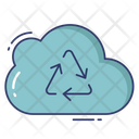 Cloud Recycle Cloud Recycle Icon