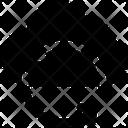 Cloud Refresh Security Synchronization Icon