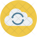 Cloud refresh sign Icon
