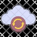 Cloud Refreshing Icon