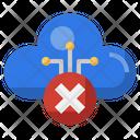 Cloud Remove Cloud Cancel Error Icon