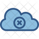 Cloud Removed Cloud Computing Disconnected Icon