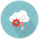 Cloud Repair Service Icon