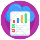 Cloud Report Icon