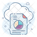 Cloud Reporting Cloud Computing Cloud Technology Icon