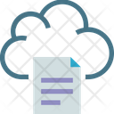 Cloud Reporting Icon