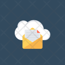 Cloud Reporting Documents Icon
