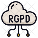 Cloud RGPD Icon