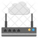 Cloud Router Wireless Icon