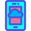 Cloud Samrtphone Icon