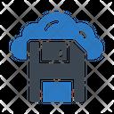 Save Floppy Cloud Icon