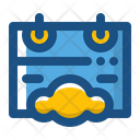 Cloud Schedule Icon