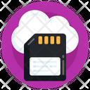 Cloud Sd Card Icon