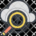 Cloud Search Cloud Cloud Search Icon